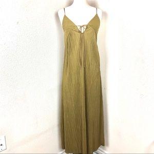 ZARA Maxi Dress Green Small
